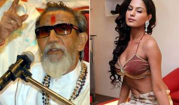 bal thackeray says send back veena malik to...
