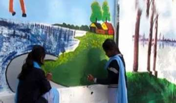 bengal students to beautify polling stations -...