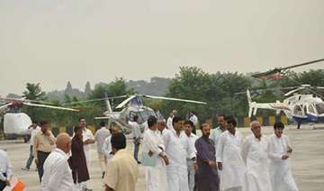 bihar leaders begin helicopter campaign - India TV