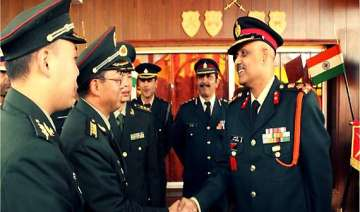 border personnel meeting between india china -...
