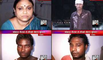 brave lady in noida nabs two robbers - India TV