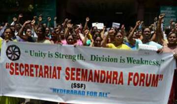 call off stir against division telangana...