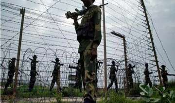 ceasefire violation along loc by pak troops -...