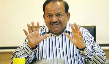 centre to look into mci functioning harsh vardhan...