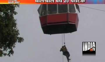 chilling footage of 21 tourists rescued from...