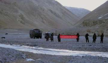 chinese soldiers again intrude in ladakh hold...