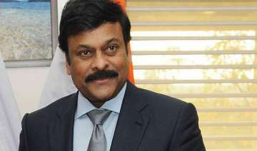 chiranjeevi resigns as minister over telangana...