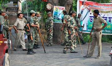 choppers used during heavy polling in maoist hit...