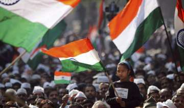 citizens hold rally in support of hazare in...
