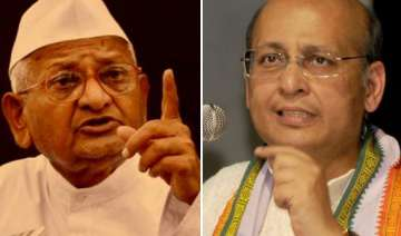cong unfazed over hazare s plans to go ahead with...