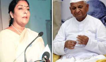 congress attacks anna hazare for justifying...