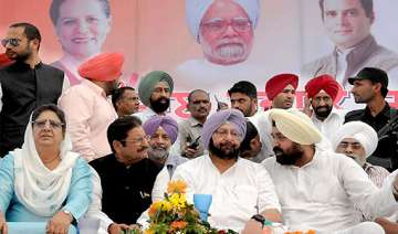 congress makes changes in punjab candidates list...