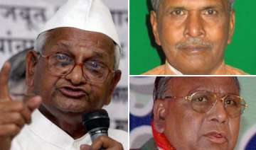 congressmen attack hazare for remarks on rahul...