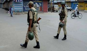 curfew continues in kishtwar looted weapons found...