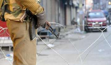curfew imposed in parts of jk s budgam after...