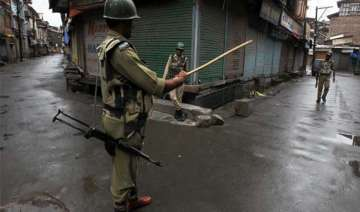 curfew in seven districts of jammu leaders barred...