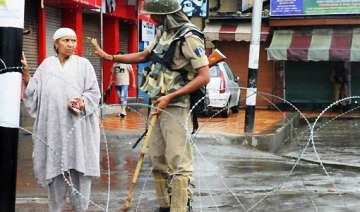 fresh clashes in kashmir valley protests against...
