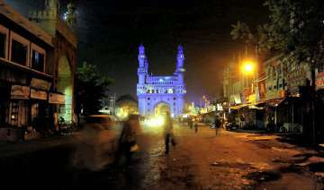 curfew continues for third day in hyderabad...