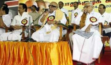 dmk scotches succession issue mum on ties with...