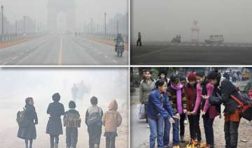 delhi chills at 3.3 deg on coldest day for...