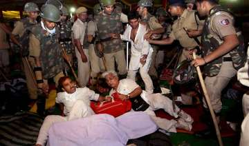 delhi police equipped to deal with hazare s...