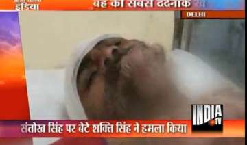delhi youth injures father with sword - India TV