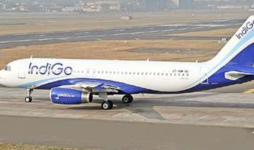 delhi bound indigo plane engine fails lands in...