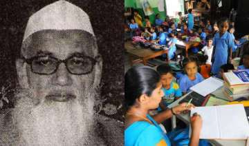 deoband slams right to education act to oppose it...