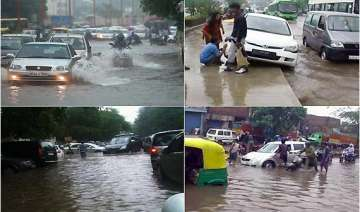 early morning rains leave commuters stranded in...