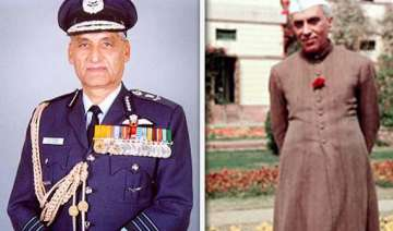 ex iaf chief tipnis blames nehru for defeat in...