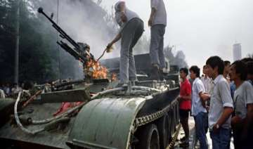exiled tibetans screen docu film on tiananmen...