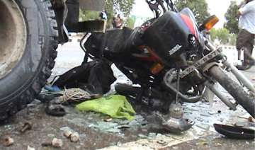 father son duo killed in road mishap three others...