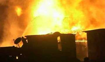 fire on 15th floor of south mumbai building no...