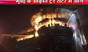 dozens of offices shops gutted in mumbai midc...
