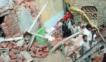 five dead in house collapse during rains in up -...