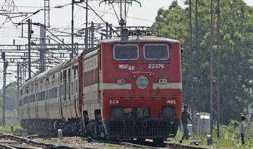 five trains diverted due to rajdhani express...