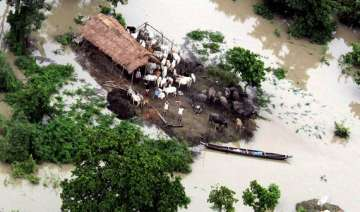 flood situation worsens in assam - India TV