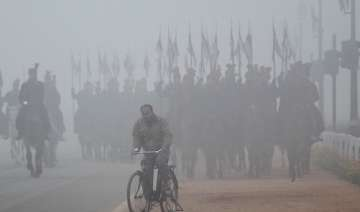 entire northern india shivers under cold spell...