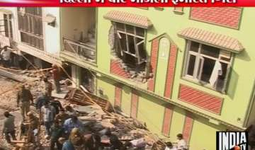 four killed in west delhi building collapse -...