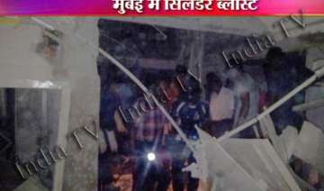 four persons killed in thane gas cylinder blast -...