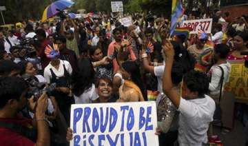 gay parade hundreds march to protest...