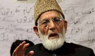 geelani opposes separate zones for kps - India TV