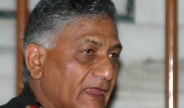 gen v k singh rejects demand for apology - India...
