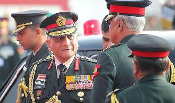 govt rules out compromise with gen singh leaves...