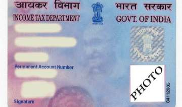 govt to issue biometric pan cards - India TV