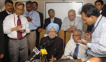 govt will work to restore growth momentum says pm...