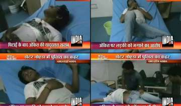 greater noida police tortures student into a...