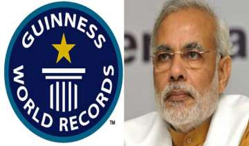 guinness urged to recognise narendra modi s...