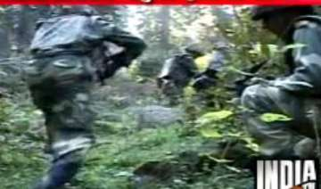 gunbattle between army infiltrators enters 13th...