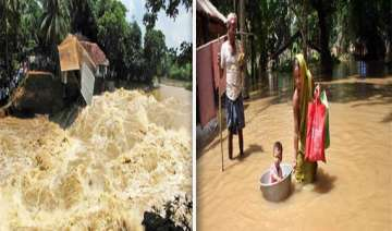 half of india submerged in monsoon flood watch...